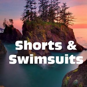 Pants - Shorts,  Swimsuits & Cover ups